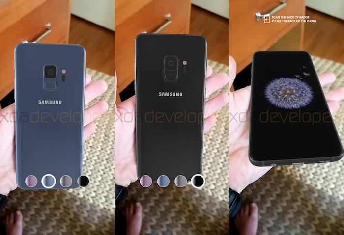 Fuite Galaxy S9 Realite Augmentee