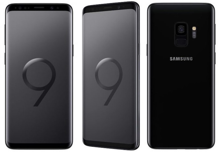 Galaxy S9 Avant Arriere Noir 1
