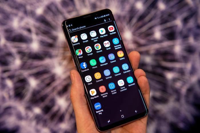 Galaxy S9 Ecran Accueil