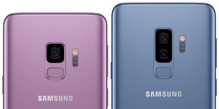 Galaxy S9 Et Galaxy S9 Plus Arriere Capteur Empreintes