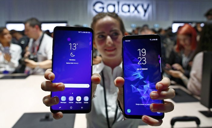 Galaxy S9 Et Galaxy S9 Plus Avant Ecran