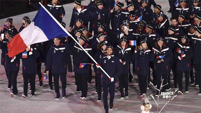 Jeux Olympiques 2018 Pyeongchang Ceremonie Ouverture France