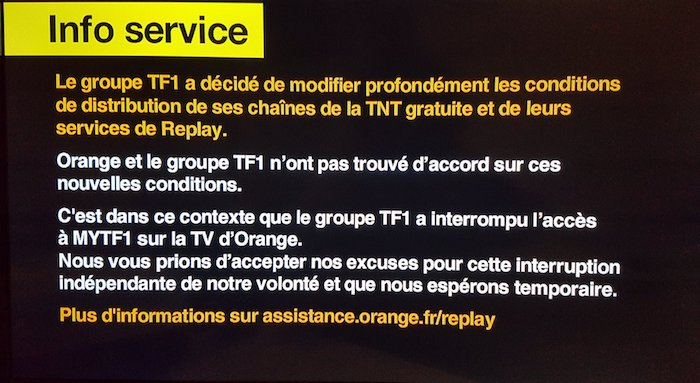 Orange Coupe MyTF1