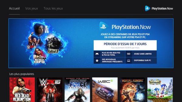 PlayStation Now Nouvelle Interface Fevrier 2018 600x338