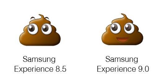 Samsung Android Oreo Vs Nougat Emojis 2