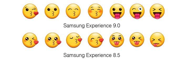Samsung Android Oreo Vs Nougat Emojis 3