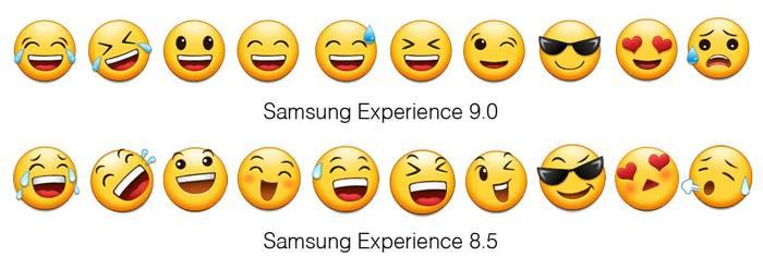 Samsung Android Oreo Vs Nougat Emojis 4