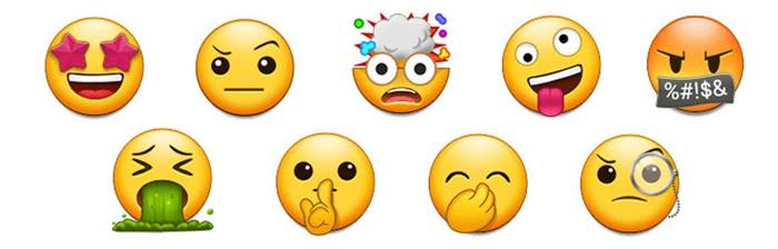 Samsung Android Oreo Vs Nougat Emojis 6