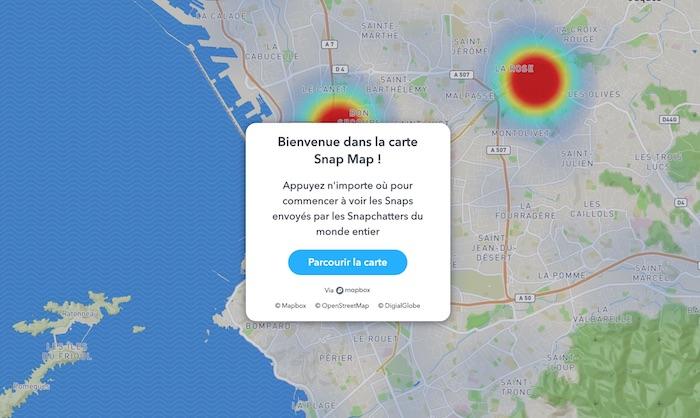 Snap Map Web