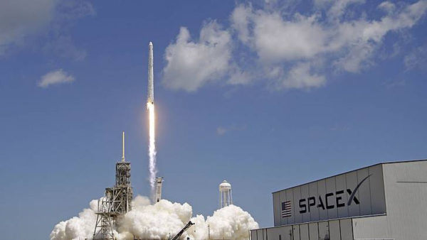 SpaceX Falcon Launch 600x338