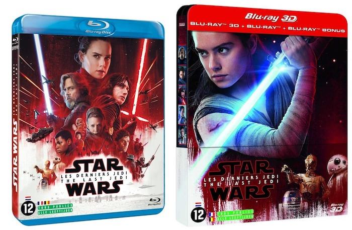 Star Wars Les Derniers Jedi Blu Ray