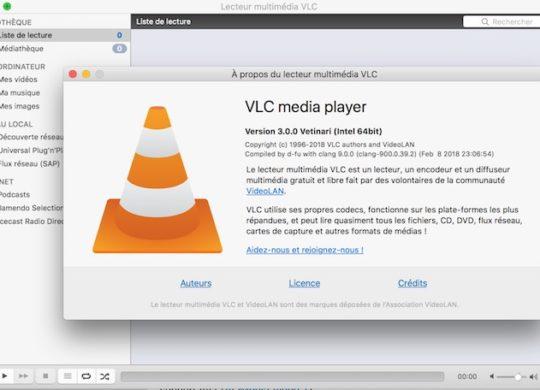 VLC 3.0 Application Mac