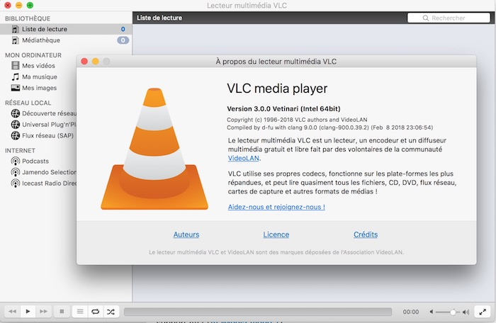 VLC 3.0 Application Mac