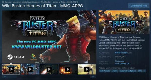 Wild Buster Heroes Of Titan 640x339 600x317