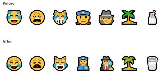 Windows 10 Anciens Et Nouveaux Emojis