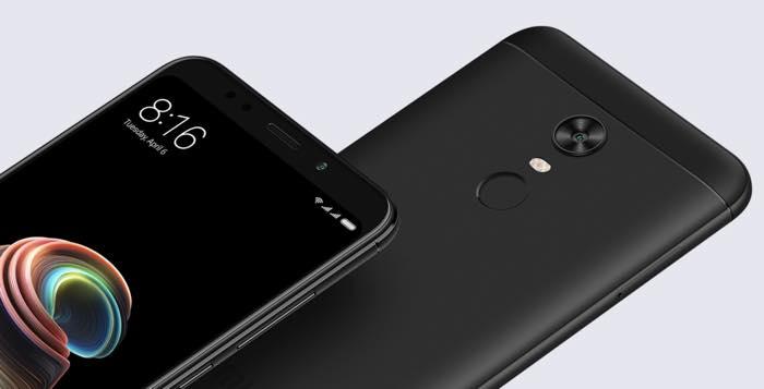 Xiaomi Redmi Note 5 Avant Arriere