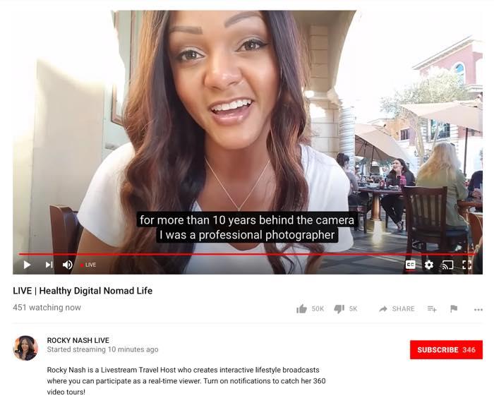 YouTube Video En Direct Sous Titres