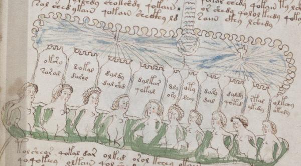 Voynich Bathers 600x331