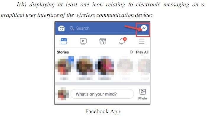 BlackBerry Porte Plainte Facebook Violation Brevets