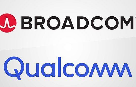Broadcom Qualcomm Logos