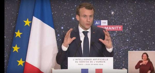 Emmanuel Macron IA 600x284