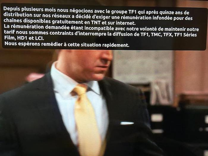Free Message Fin De TF1