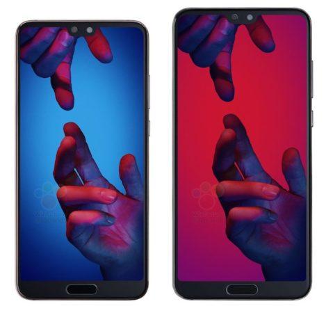 Fuite Huawei P20 Et P20 Pro 469x450