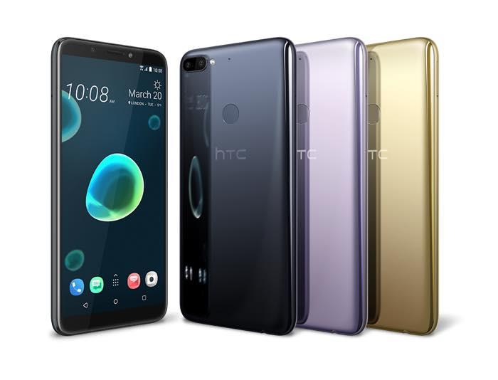 HTC Desire 12 Plus Avant Arriere