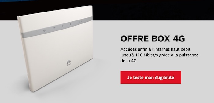 SFR Box 4G
