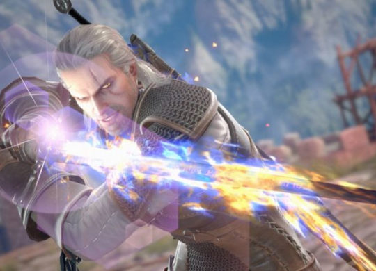Soucalibur Geralt