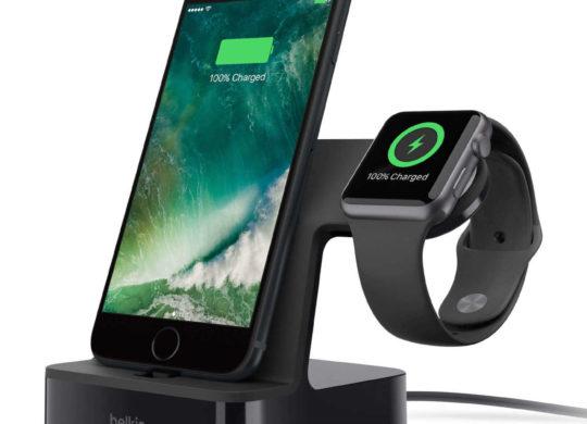 Station de recharge PowerHouse iPhone Apple Watch Belkin