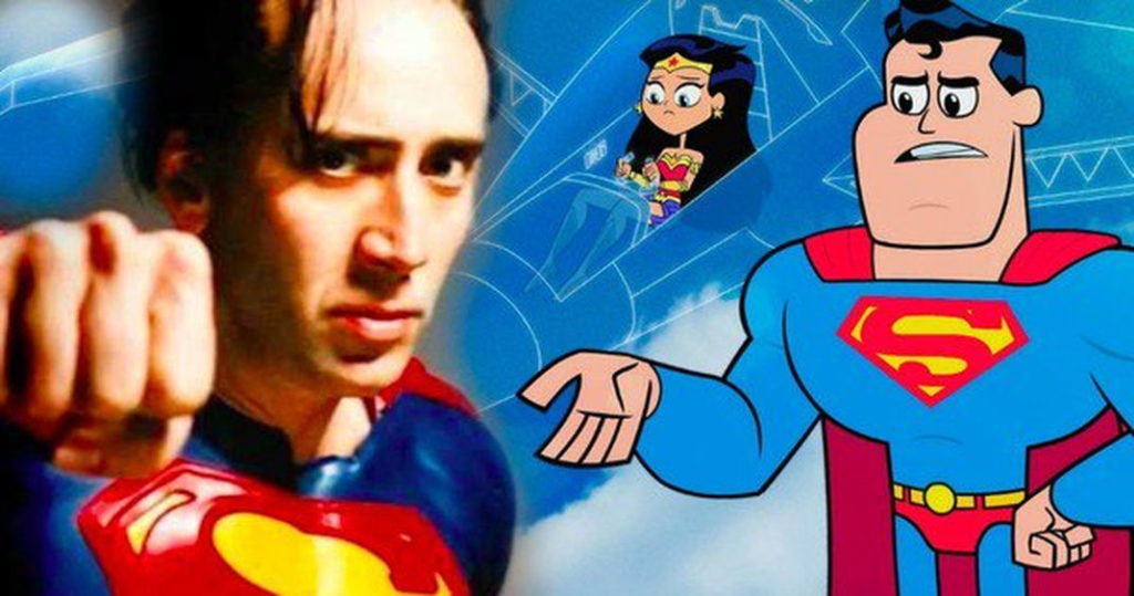 Nicolas Cage Interprterait Superman Dans Le Film Teen -8172