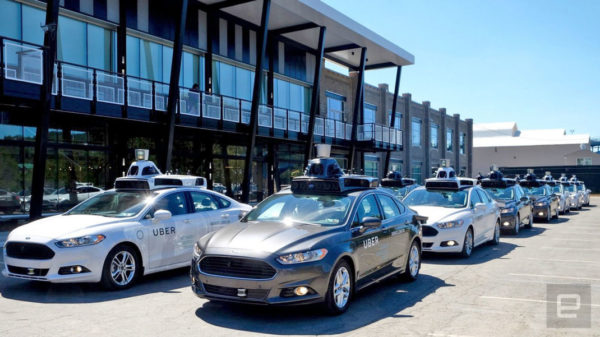 Uber Taxis Autonomes 600x337