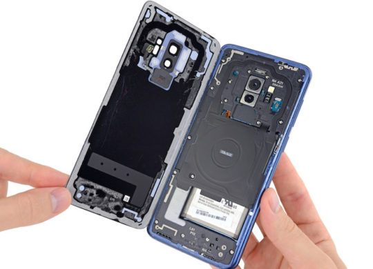 iFixit Galaxy S9 Interieur