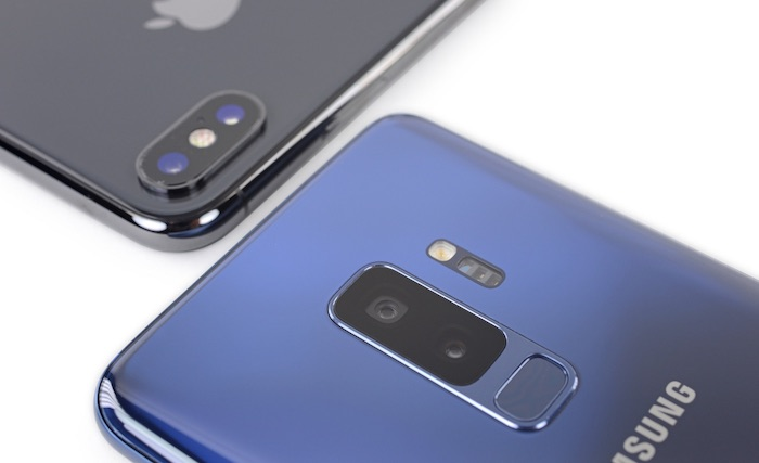 IPhone X Vs Galaxy S9 Plus Arriere