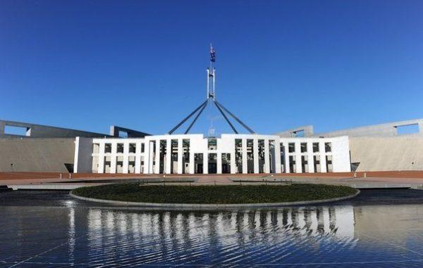 Parlement Australien 600x381