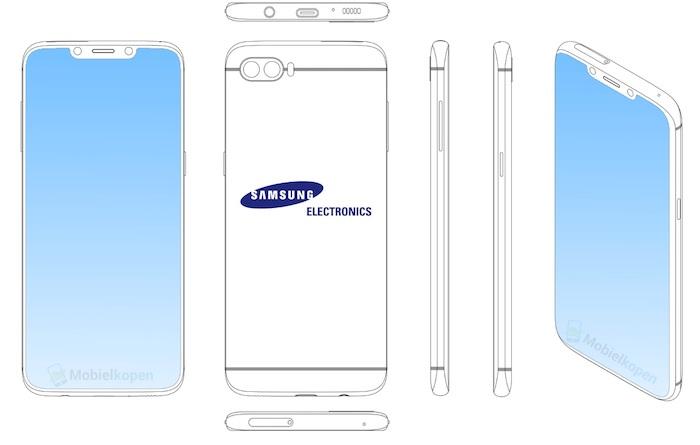 Brevet Samsung Smartphone Encoche