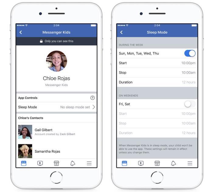 Facebook Messenger Kids Mode Veille