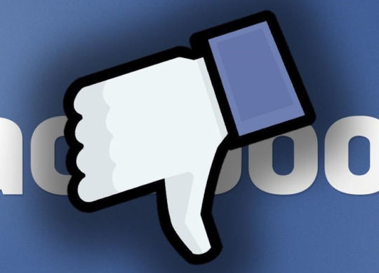 Facebook censure