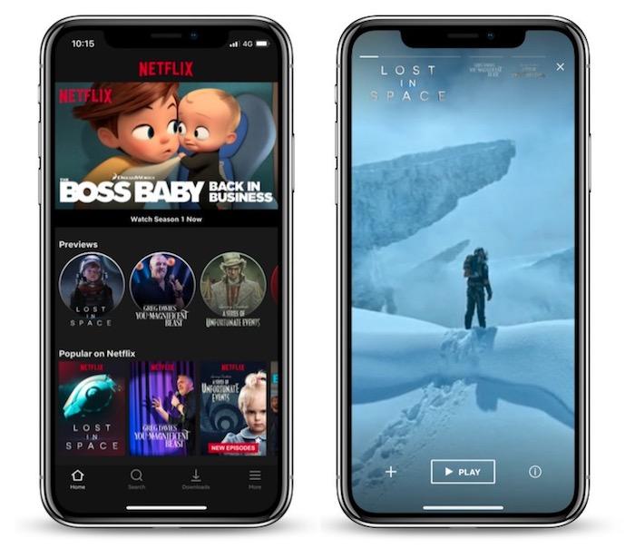 Netflix Bandes Annonces Mobiles Verticales