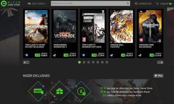 Razer Game Store 600x357