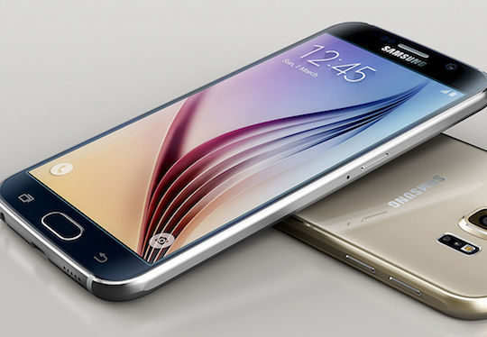 Samsung Galaxy S6 Avant Arriere