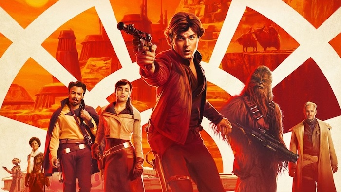 Solo A Star Wars Story Affiche Recadree