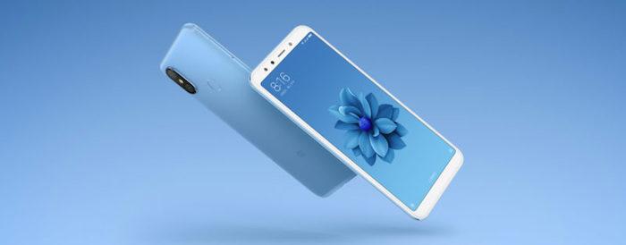 Xiaomi Mi 6X Bleu