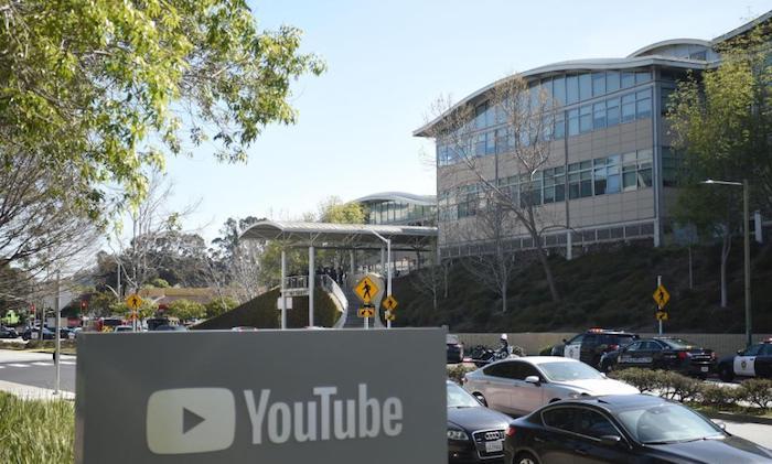 YouTube Logo Fusillade Campus