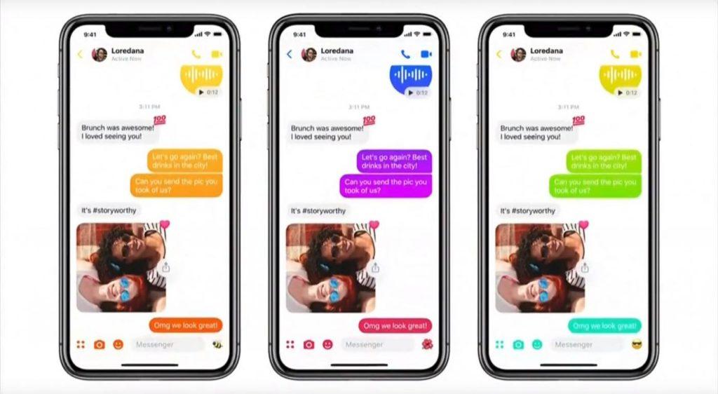 Facebook Messenger Nouveau Design 2018 Couleurs 1024x562
