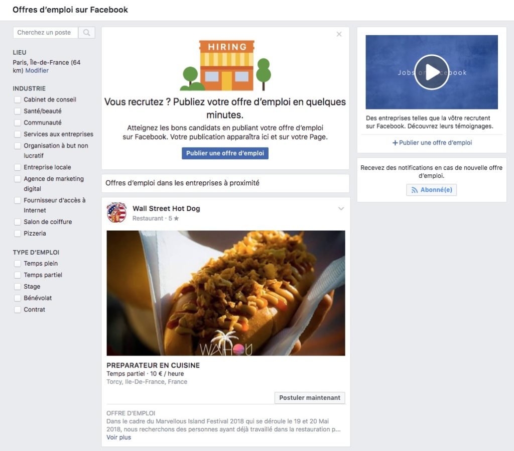 Facebook Offres Emploi France 1024x898
