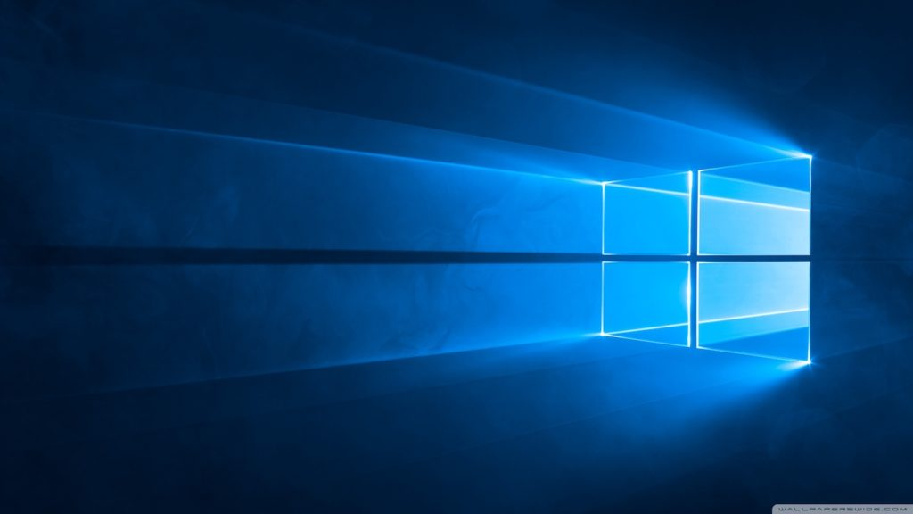 Fond Ecran Windows 10 Par Defaut Logo 1024x576