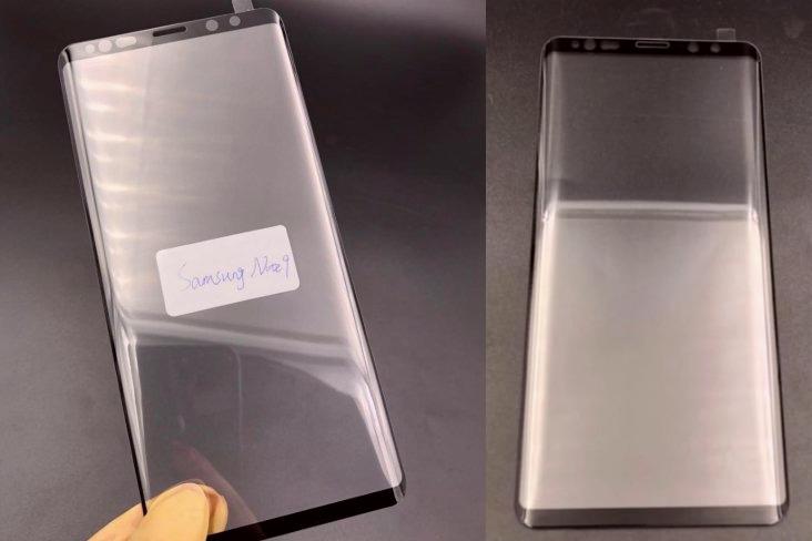 Fuite Protection Ecran Galaxy Note 9