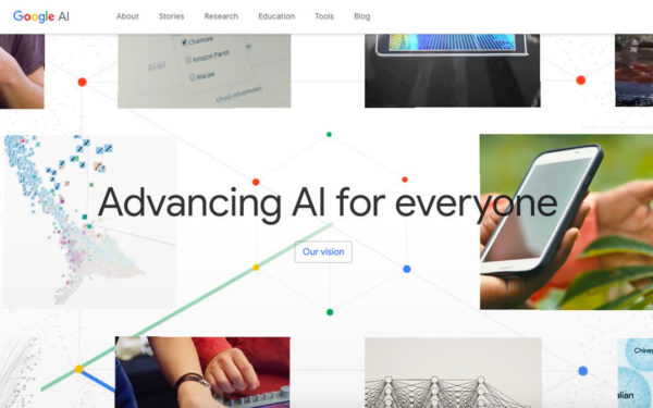 Google AI Internet Page 600x375